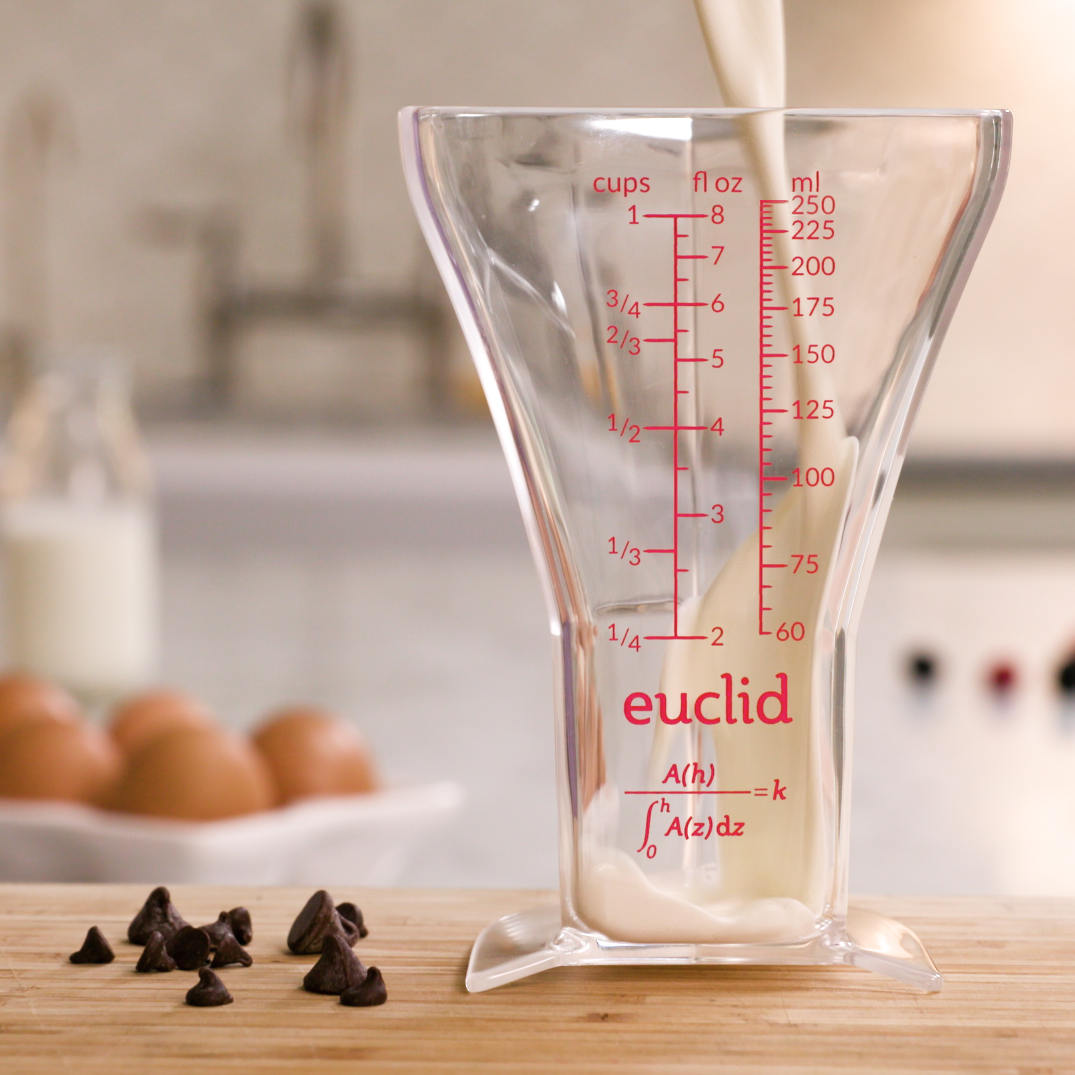 Euclid with milk pouring